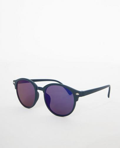 Nachtblauwe zonnebril